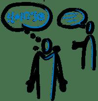 Missverständnisse sind eine häufige ursache für streite und