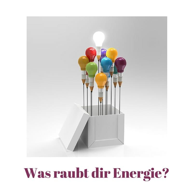 9 typische Energieräuber