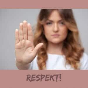 Respekt vor meinen Grenzen