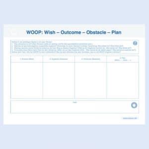 WOOP Formular