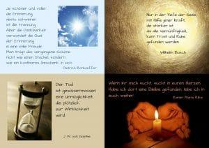 12 Berührende Sprüche Und Zitate Zu Trauer Und Abschied
