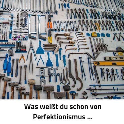 Perfektionismus Ordnung