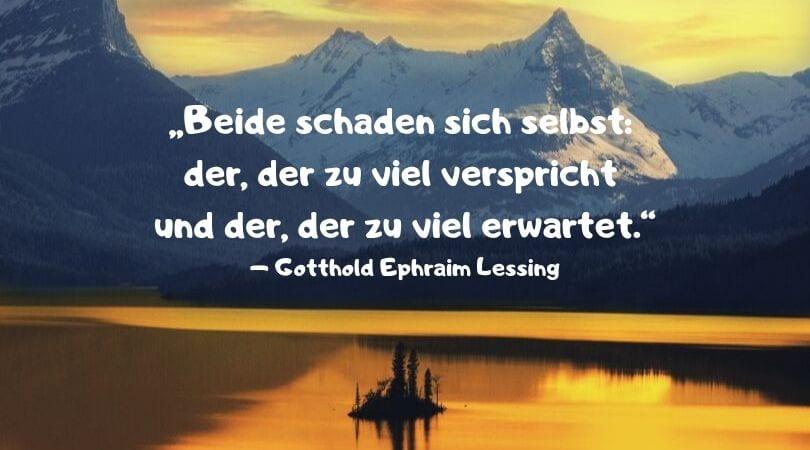 Enttäuschung Sprüche Lessing